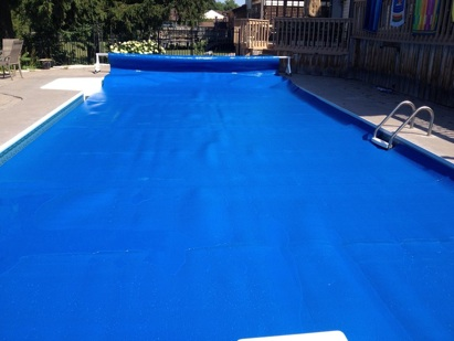 Blue Shield Poly Laminating - Pool Blankets